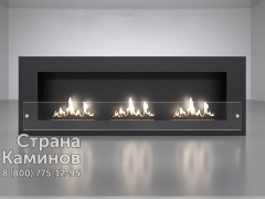 Биокамин Wall 25 trio Glass